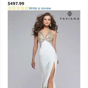Stunning faviana gown